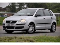 2006 Volkswagen Polo 1.2 E 5dr+FULL SERVICE HISTORY+12 MONTHS MOT+HATCHBACK+CHEAP TO RUN