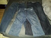 Mens jeans bundle size 30 regular loose fit