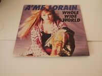 A'me Lorain ‎– Whole Wide World