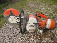 Stihl petrol disc cutter TS350