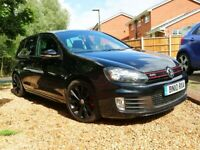 2010 VW Golf GTi Mk 6, FSH, MOT, 5 Door, Black Turbines, Hands Free Ki