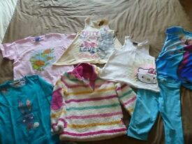 Girls clothes bundle aged 5-6 years