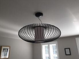 Made Ceiling Light Black Wire