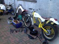 2x JCM 240 cc Trails motor bike winter projects. No reserve.