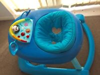 Chicco 123 baby walker and activity centre