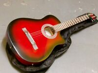 red electro acoustic