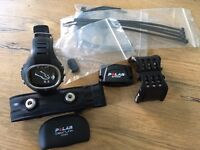 Polar CS300 sports watch with heart rate monitor and bicycle speed sensor