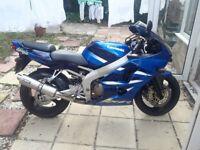 Kawasaki ninja 2001 low miles