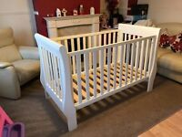 The Little White Company cot bed, £180