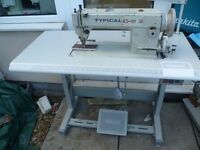 TYPICAL industrial WALKING FOOT Sewing machine(FOR HAND BAGS, UPHOLSTERY, DOG COLLARS