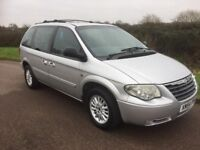 2004 (54) Chrysler Voyager 2.8 CRD LX Automatic/Diesel/7 Seater