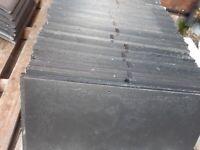 Graphite roof slates 300 x 600 mm
