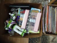Huge job lot car boot items, resell, ebay, market, games, electrics, toys, clothing, vintage