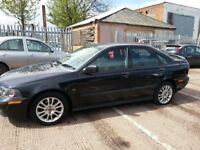 VOLVO S40 1.8 SPORT 2004 REG AUTOMATIC LOW MILES 60K LEATHER ALLOYS