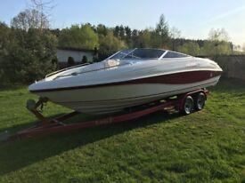 Boats+trailer Rinker Captiva