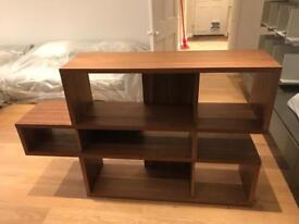 Walnut Bookcase (Horizontal) £220
