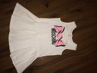 MOSCHINO BABY GIRL DRESS 12/18M