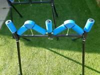 2 x avanti quad pole rollers