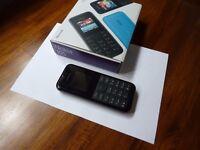 Nokia 105 mobile (black unlocked)