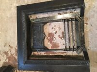Antique cast iron fireplace **Lack of space Need gone asap**