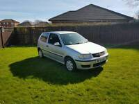 2002 VOLKSWAGEN POLO 1.O ENGINE EXCELLENT RUNNER DRIVER CLEAN AND TIDY