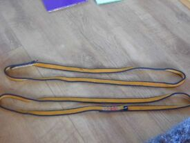 Mixed sized climbing slings - good condition all 60cm or 120cm