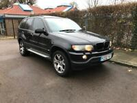 BMW X5 3.0 SPORTS 2001 BLACK LOW MILES LAST OWNER FOR 13 YEARS