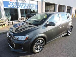 2017 CHEVROLET SONIC 5 LT RS,TOIT,MAGS,AUTO,FULL