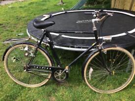 Vintage Raleigh children men's town bike