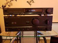 Technics SU-V670 PXScap. and Stereo Tuner ST-G560L.