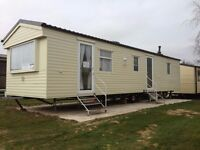 6 berth caravan to hire at Hopton holiday village