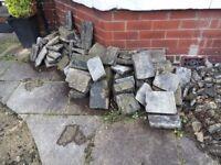 x50-70 Paving stones / blocks - FREE