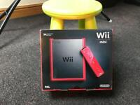 Wii mini Red Brand new Limited Edition