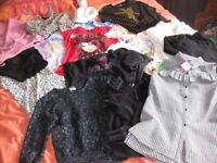 BUNDLE OF GIRLS CLOTHES 9-10