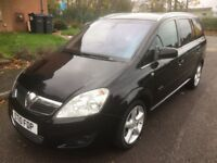 Vauxhall Zafira Elite Cdti 1.9 Diesel Automatic 12 Months MOT Genuine Low Mileage 7 Seater