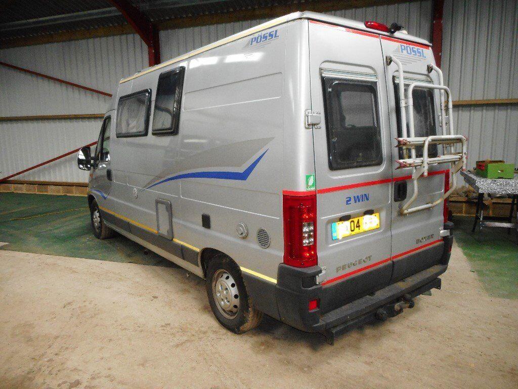 4 Berth Diesel Campervan Peugeot Lhd In Kingsnorth Kent