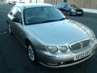 2002 02 ROVER 75 2.0 CDT AUTOMATIC CONNOISSEUR SE ** DIESEL AUTOMATIC ** TRADE IN TO CLEAR **
