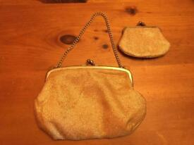 Vintage Evening Bag with purse
