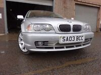 03 BMW 330CI SE 3.0 COUPE,MOT MARCH 018,3 OWNERS FROM NEW,PART HISTORY,2 KEYS, VERY LOW MILEAGE CAR
