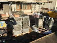 approx 600 Double Roman Roof tiles used in good condition
