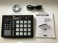 Korg PadKontrol MIDI controller in EXCELLENT condition. Original box, drivers/documentation included