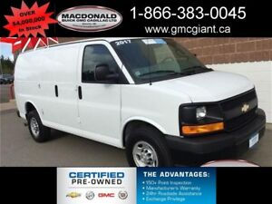 2017 Chevrolet Express WT -  Power Windows - $173.90 B/W