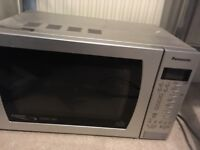 Panasonic combi microwave oven for sale. Good condition. For collection only