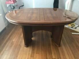 Italian-style dining table