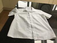 6 school white shirts