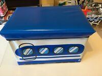 Wagon bus design kids foldable storage box