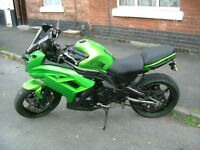 kawasaki ER6F 62 plate with Many Extras