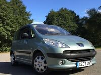 Peugeot 1007 1.4 8v Dolce 3dr GENUINE WARRANTED LOW MILEAGE