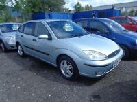 2004 Ford Focus 1.6 Petrol 5 door MOT'd DEC £495