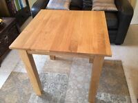Table - Solid Oak Square Table
